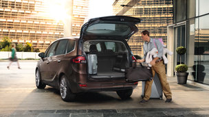 New Opel Zafira Tourer - Storages