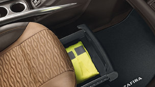 New Opel Zafira Tourer - Storage Posibilities
