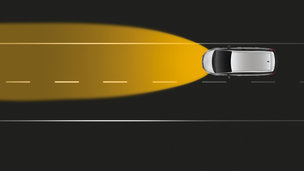 New Opel Zafira Tourer - High Beam Assist