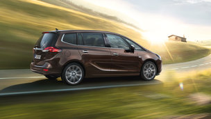 New Opel Zafira - Driving Dynamics