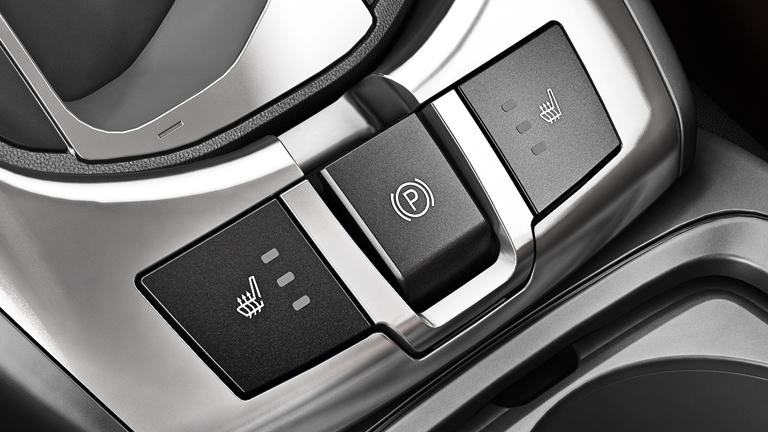 Электрический стояночный тормоз управляется нажатием на кнопку.  Он одновременно уменьшает усилие, требуемое от...